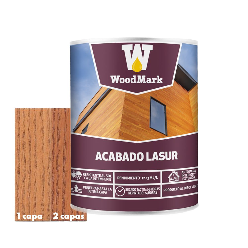 Lasur color caoba Woodmark de acabado mate 1   Potspintura.com