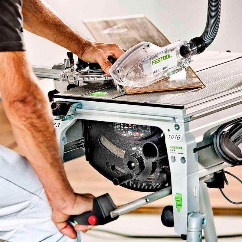 Sierra de mesa PRECISIO CS 50 EB de Festool 5   Potspintura.com
