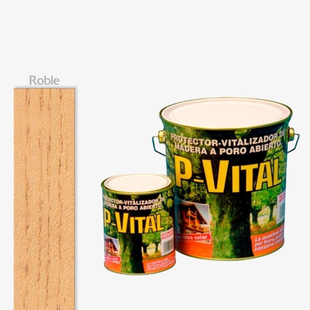 Protector para madera satinado color roble P-Vital de Banaka 1 | Potspintura.com