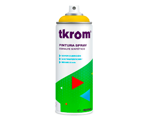 Esmalte sintético en spray Tkrom