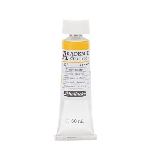 Pintura al óleo en tubo amarillo de cromo Akademie ÖL color de Schmincke 1 | Potspintura.com