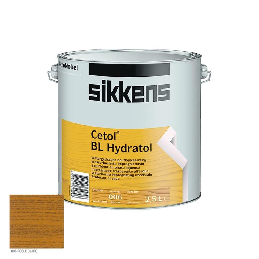 Lasur al agua Sikkens Cetol Hydratol roble claro mate 1   Potspintura.com