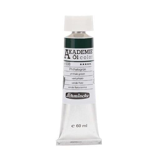 Pintura al óleo Schmincke Akademie ÖL tubo 60ml. verde ftalocianina 41508 1   Potspintura.com